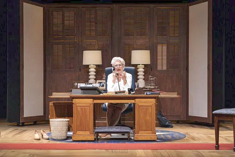 Jayne Atkinson as Ann Richards,