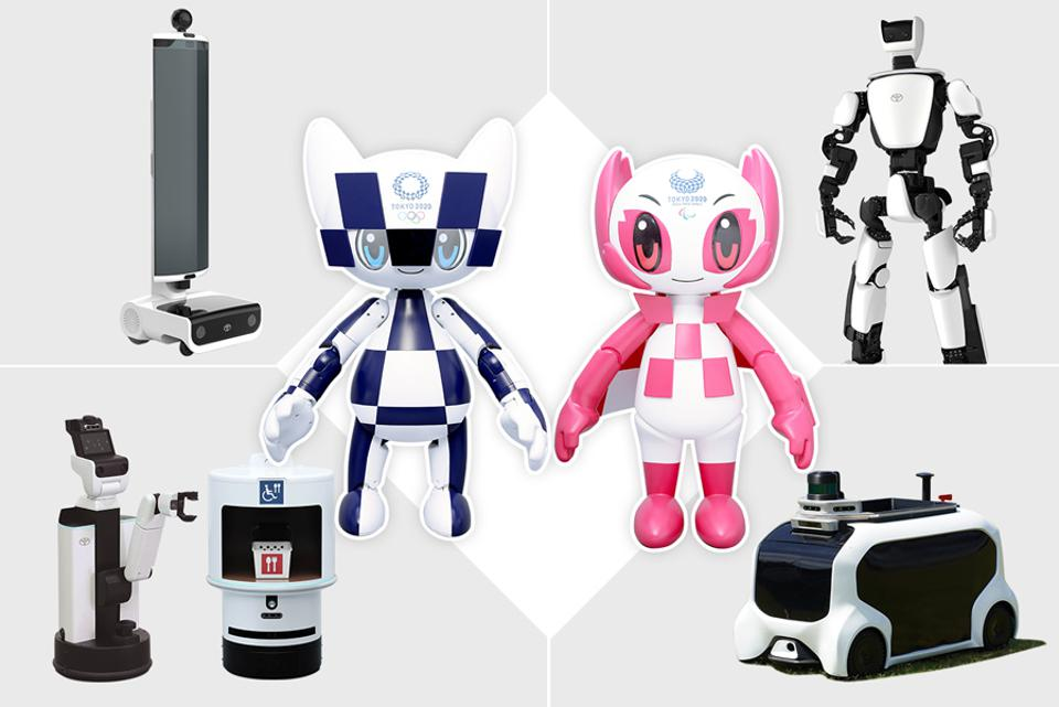 Tokyo 2020 Olympics and Paralympics robot crew