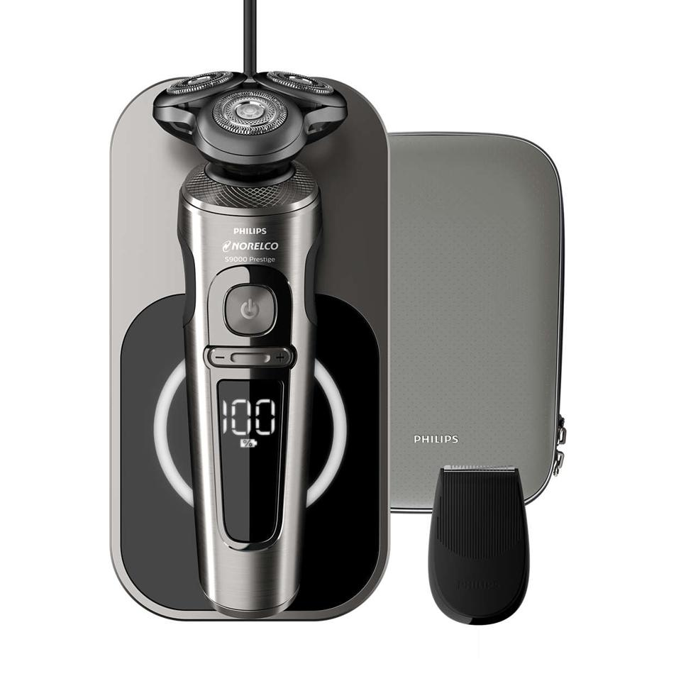 Philips Norelco's Series 9000 Prestige electric shaver.