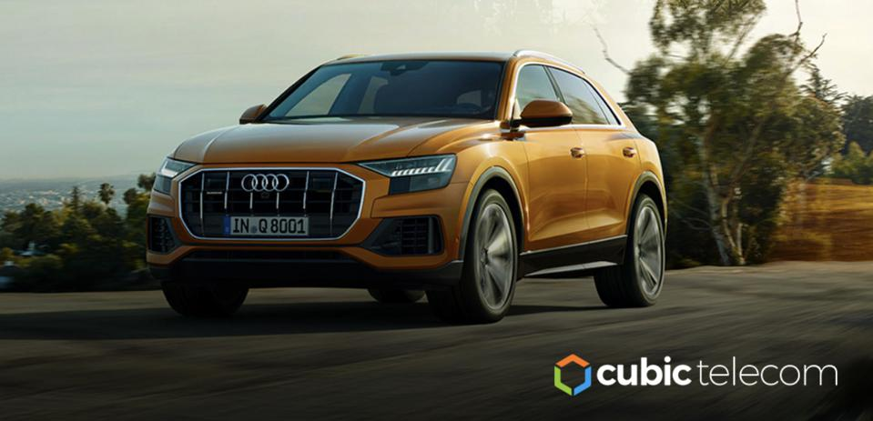 The Audi Q8 is part of a new generation of ″connected″ vehicles.
