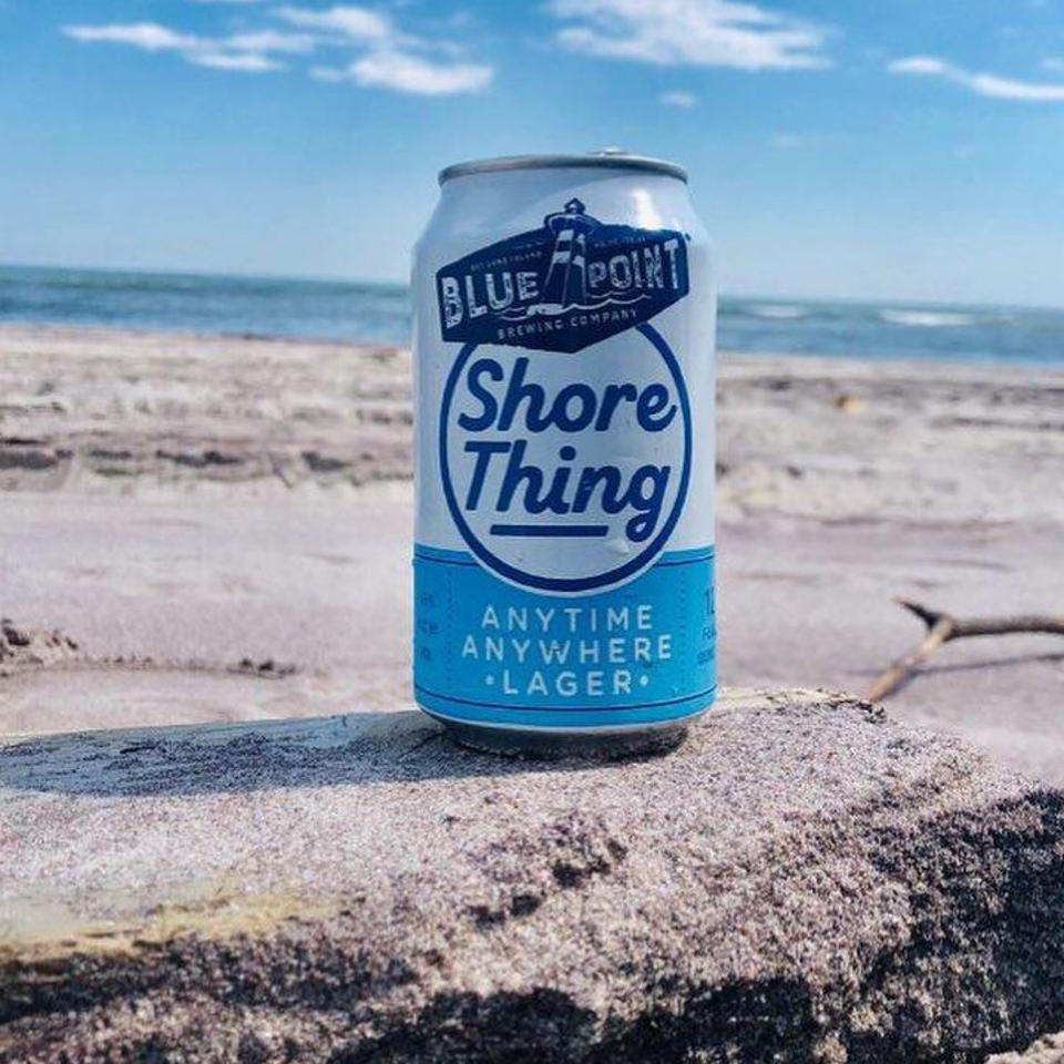 Blue Point's Shore Thing lager pays homage to Long Island.