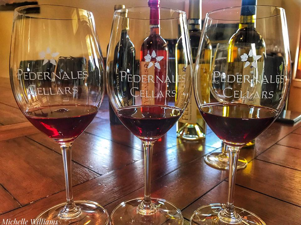Tasting at Pedernales Cellars