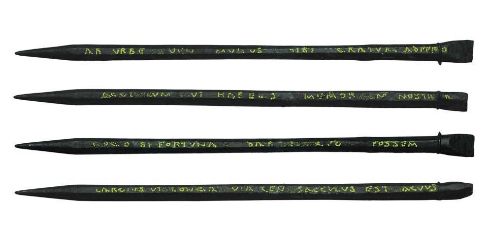 An inscribed Roman stylus