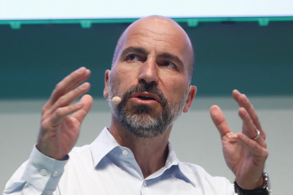 Uber CEO Dara Khosrowshahi noted the company's slowing growth in an internal email