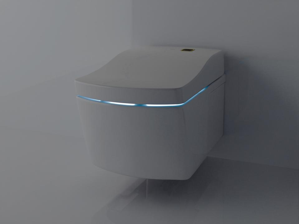 NEOREST AC Actilight Cleansing Technology toilet.