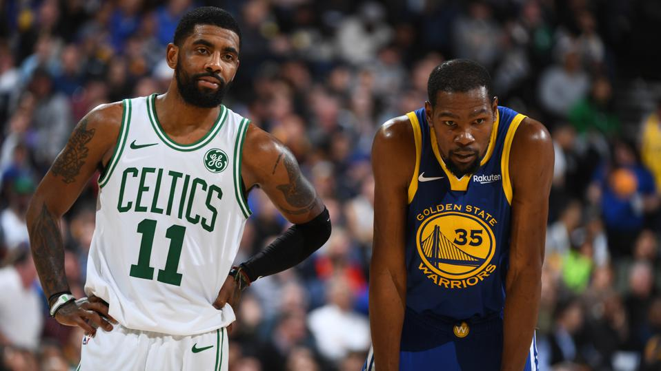 Kevin Durant And Kyrie Irving Send Brooklyn Nets Soaring