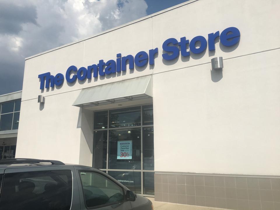 Une photographie de The Container Store à Paramus, N.J.
