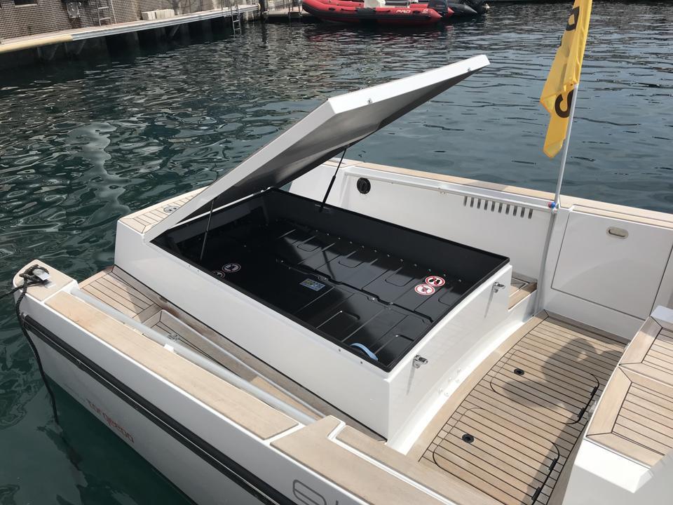 Torqeedo Electric Boat battery pack.