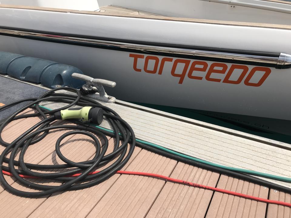 Torqeedo Electric Boat.