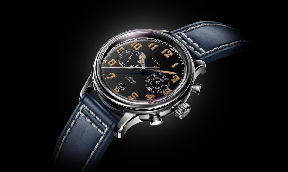 Patria Brigadier with black dial
