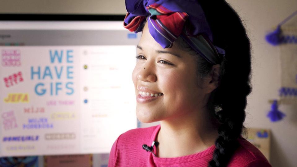 Kay Lopez creates 100 IG gifs for Latinas