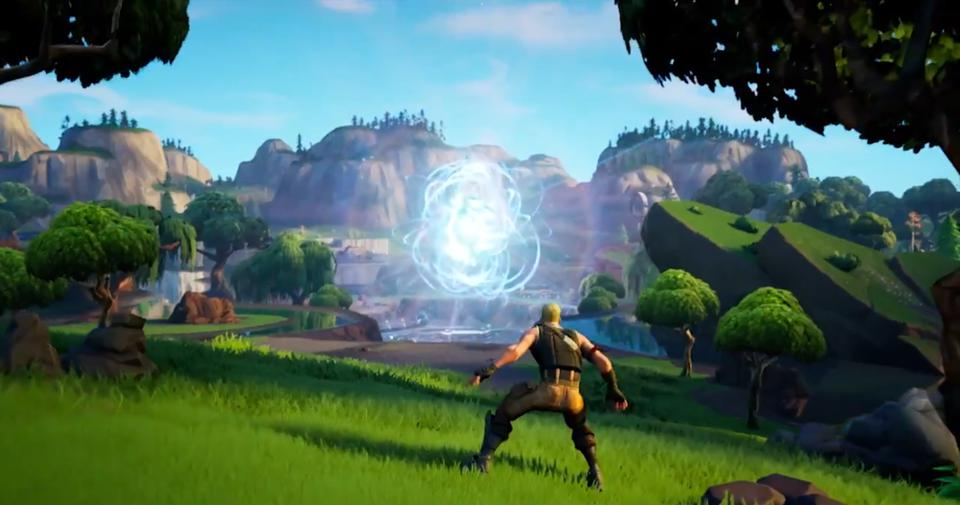 The Orb At Loot Lake Explodes In The Final Fortnite Season