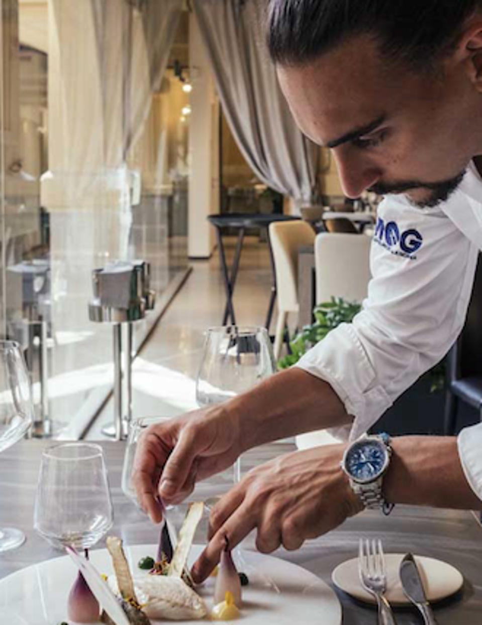Executive Chef Daniele Rebosio.