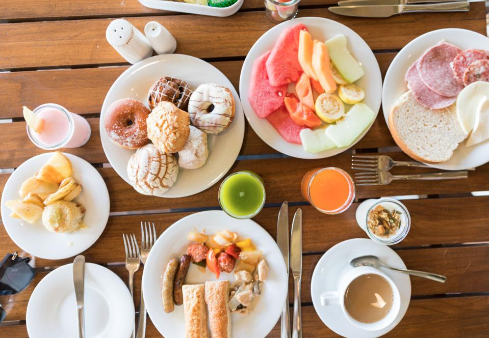 Breakfast at Unico Riviera Maya