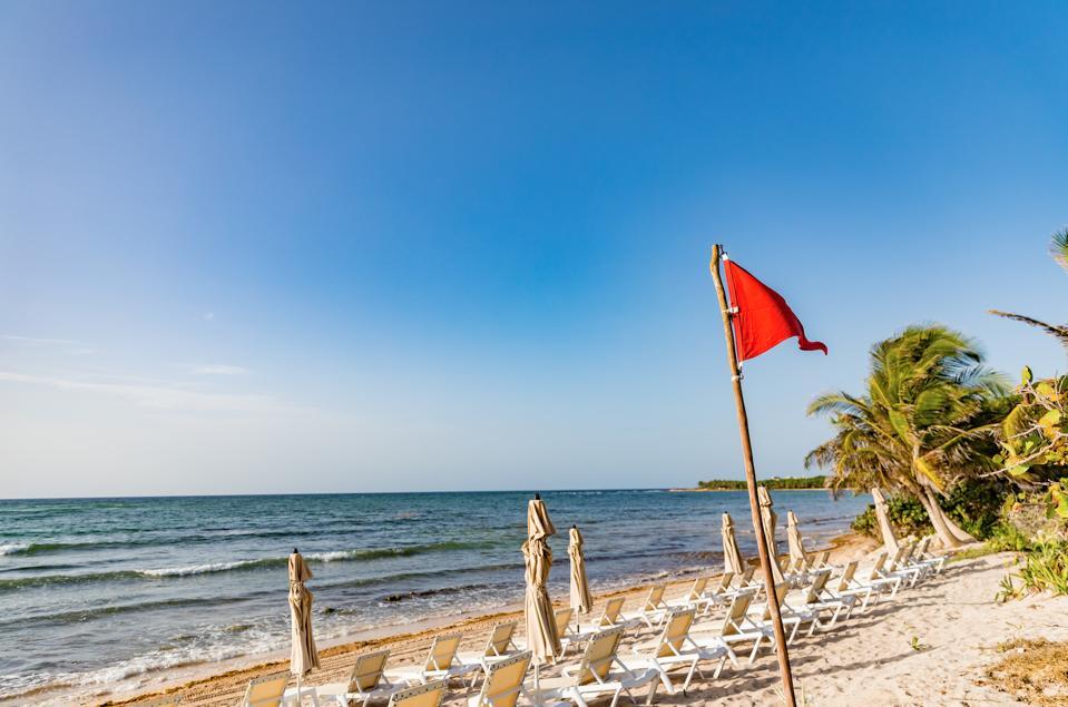 The beach at Unico Riviera Maya