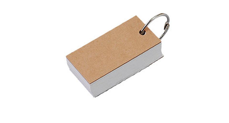 Key Ring Memo Block