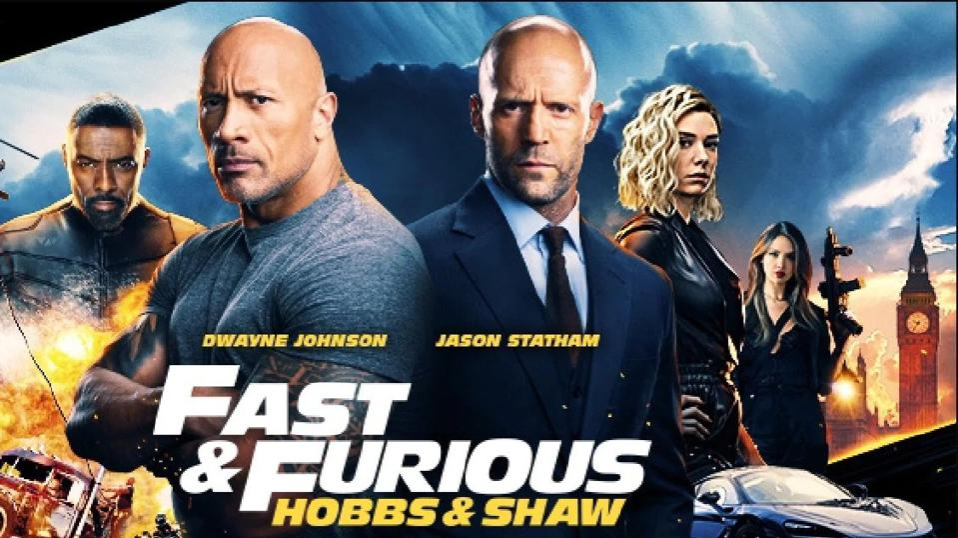 Dwayne Johnson, Jason Statham, Idris Elba, Vanessa Kirby And Eiza González star in 'Fast & Furious Presents: Hobbs & Shaw'