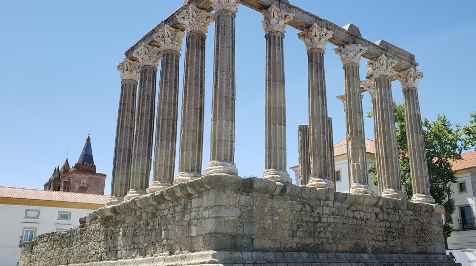 Evora, Roman Ruins, Alentejo, Portugal