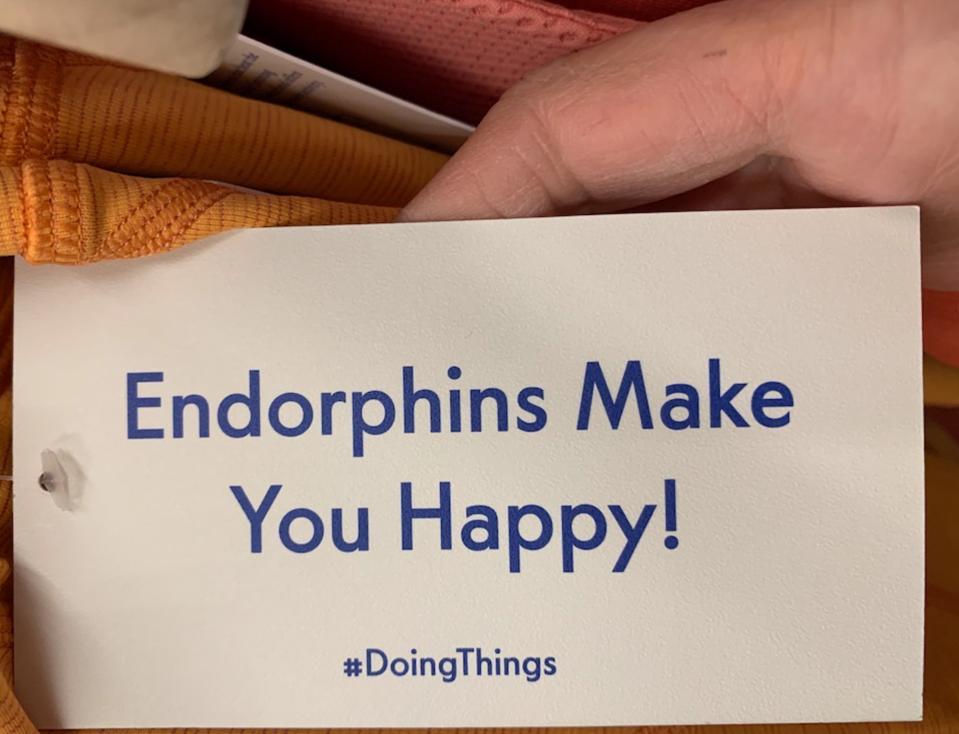#DoingThings label