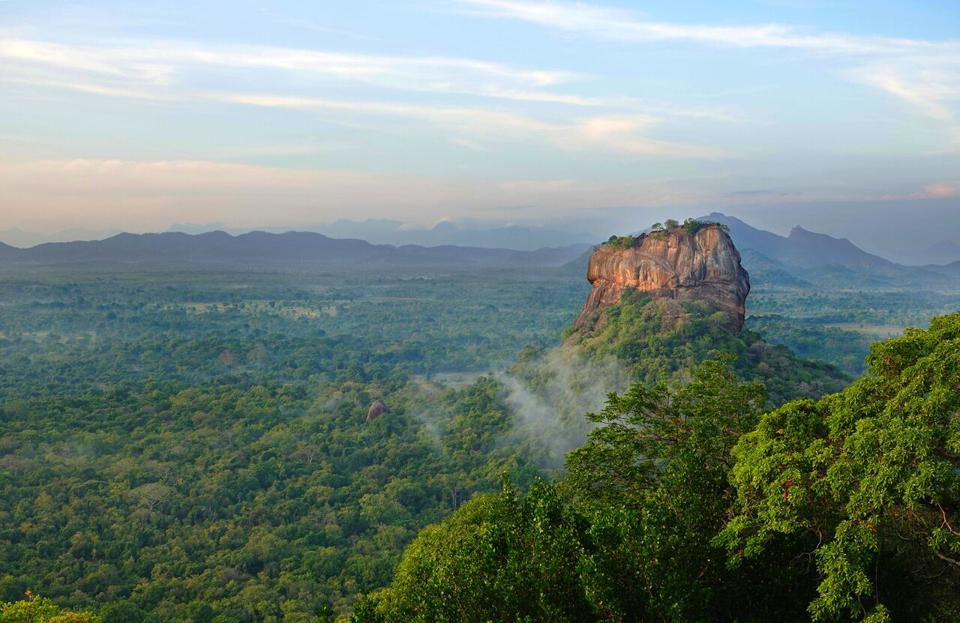 Lion's Rock in Sri Lanka