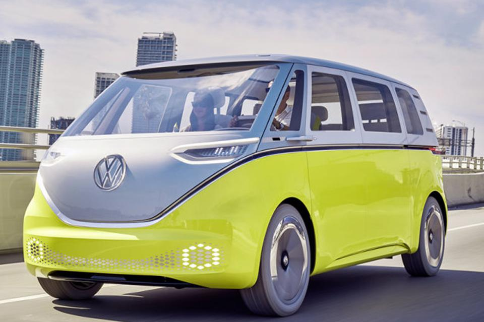 VW's electric bus coming to a dealer near you in 2021.