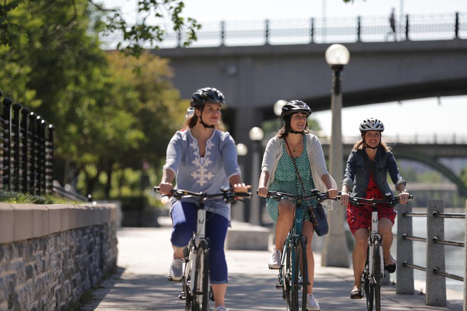 Rideau Canal - bike