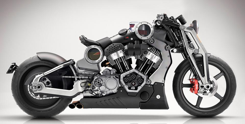 Curtiss Motorcycle Unveils Three Radical Electric Bike