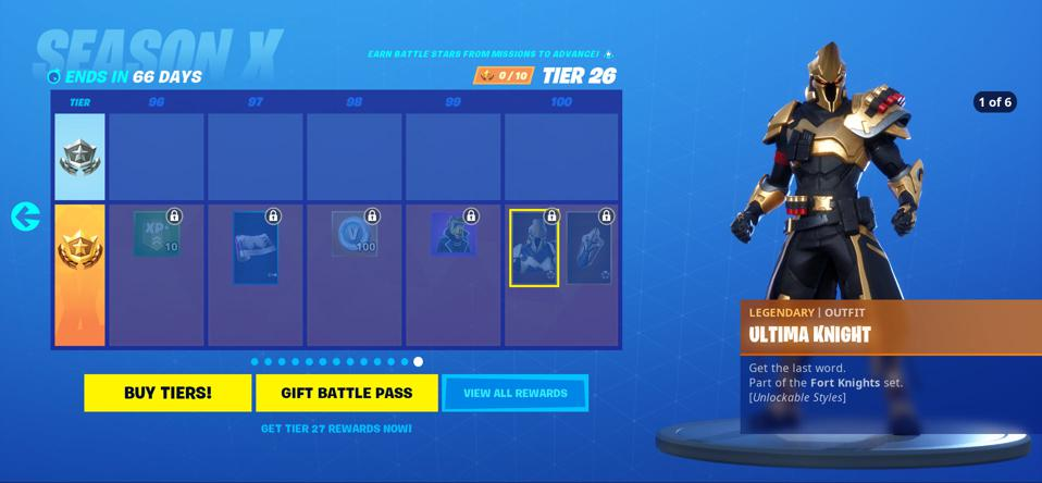 'Fortnite' Season 10: Check Out The Crazy Tier 100 Skin ...