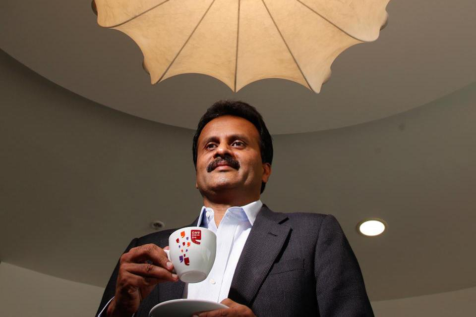 V.G. Siddhartha founded India's largest coffee-shop chain, Coffee Day Enterprises