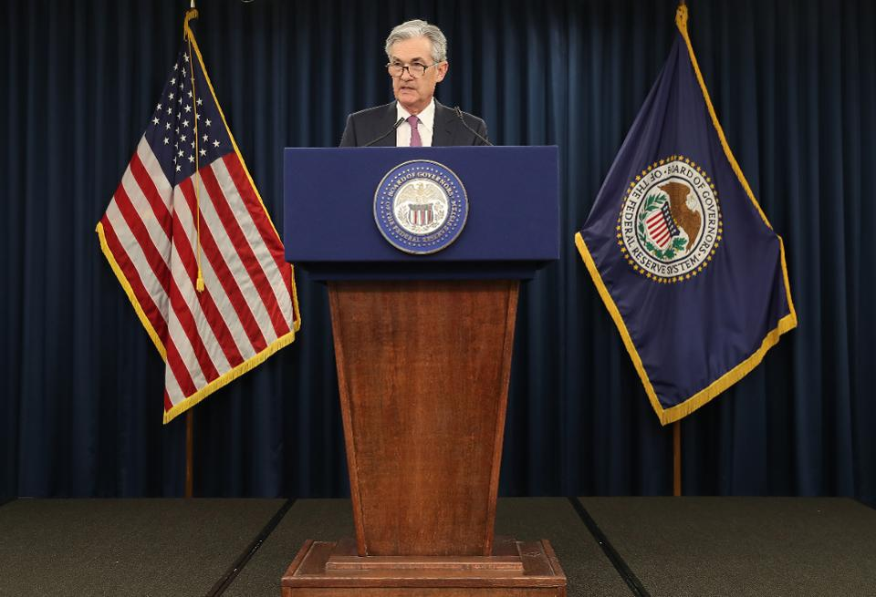 Federal Reserve chairman Jerome Powell announced an interest rate cut of 0.25% Wednesday.