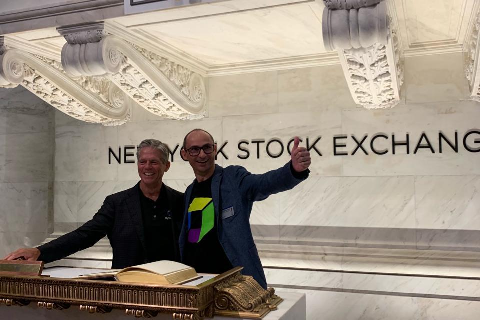 Dynatrace CEO John Van Siclen and CTO Bernd Greifeneder