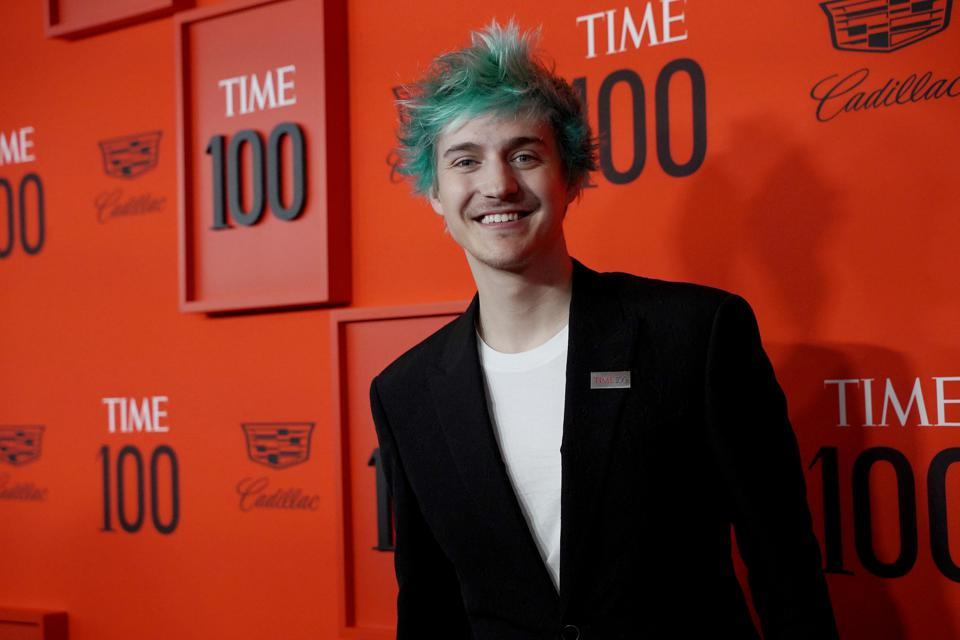 Time 100 Gala 2019 Ninja Tyler Blevins Mixer Twitch Microsoft
