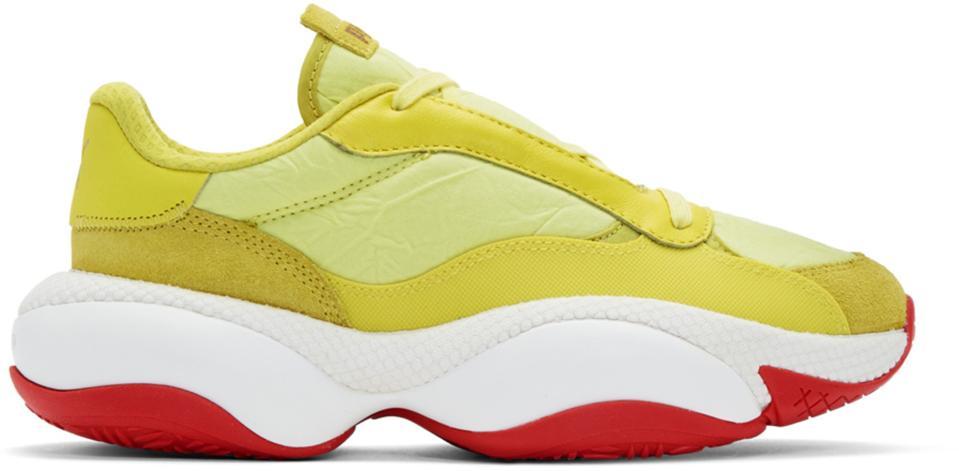 Han Kjobenhavn Yellow Puma Edition Alteration PN-1 Sneakers
