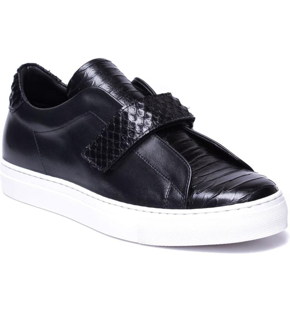 Jared Lang Sergio Laceless Strapped Sneaker