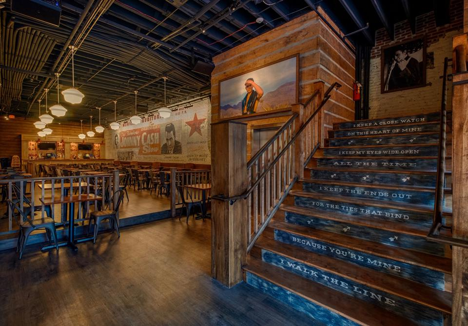 The first floor of Johnny Cash's Kitchen & Saloon