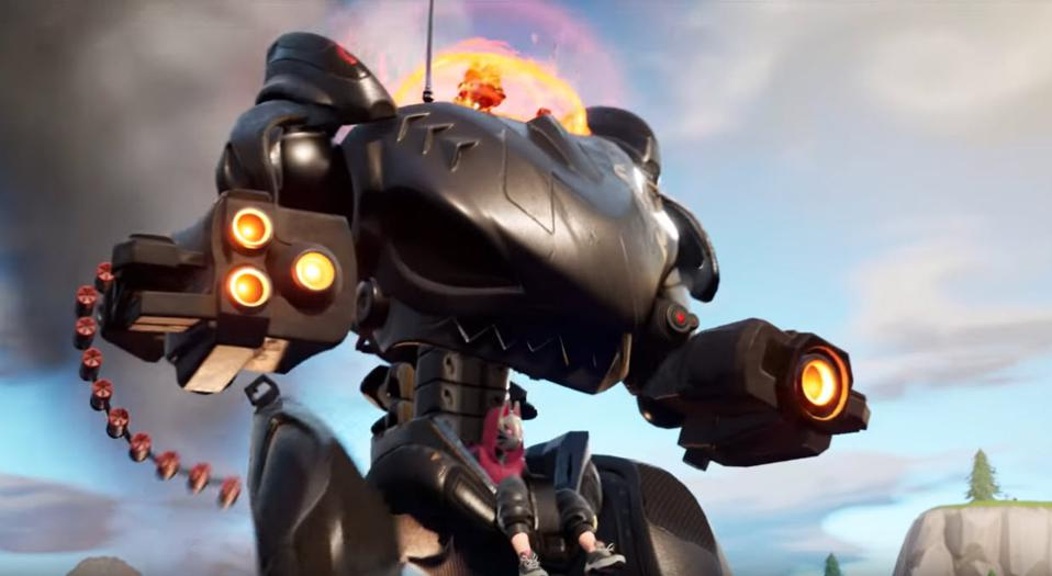 Fortnite Players Already Hate Season 10 S Mech And The