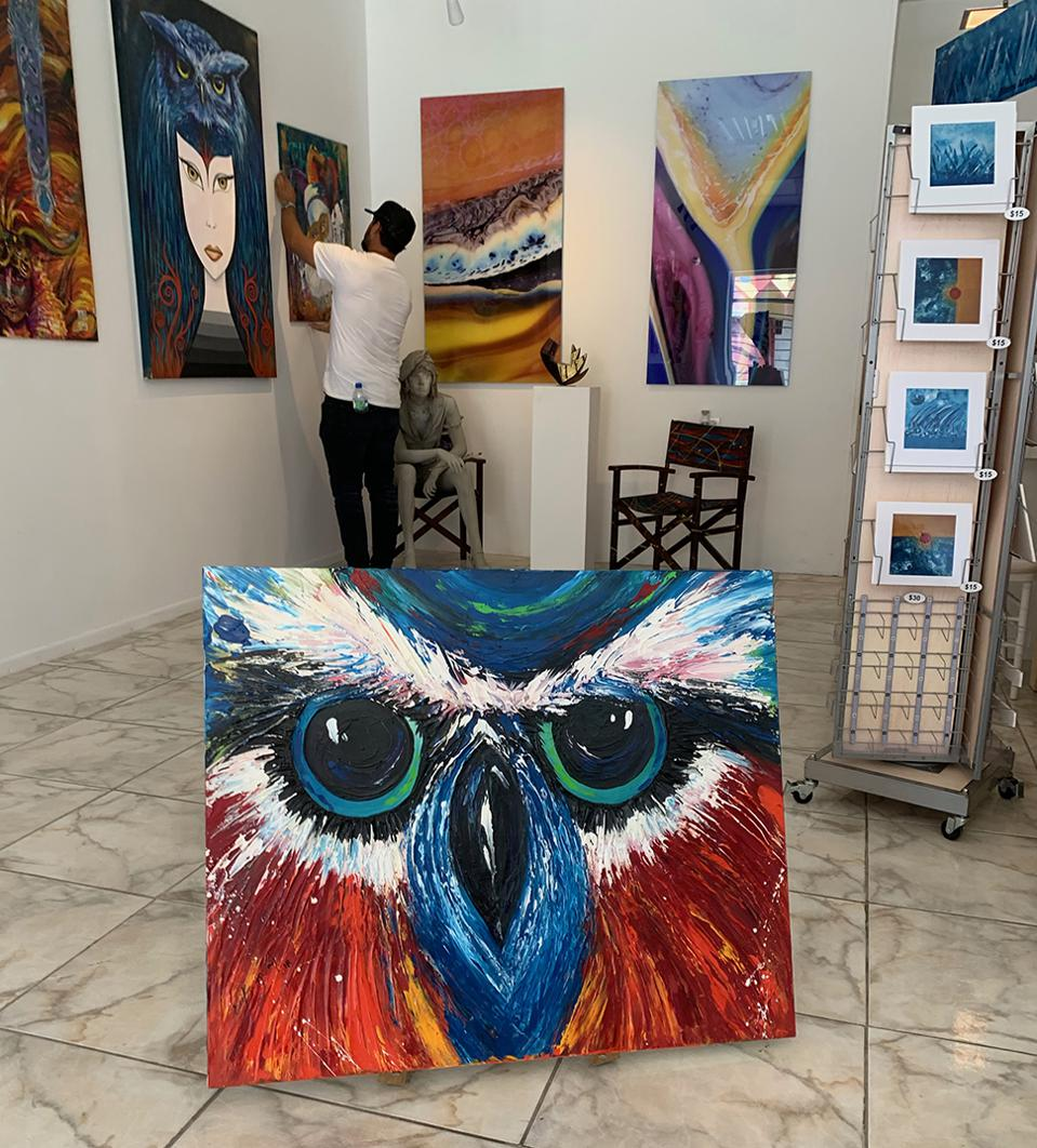 Painting Workshop with a Local Artist