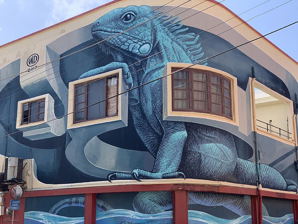 Bali Artist WD's Iguana