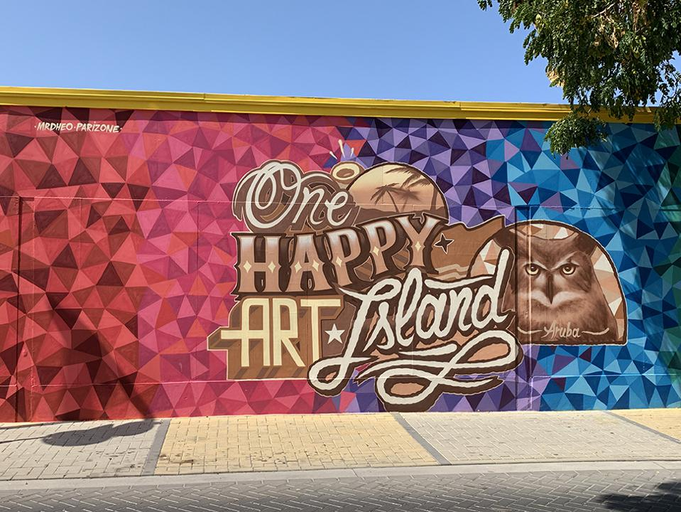 Aruba's Street Art Renaissance