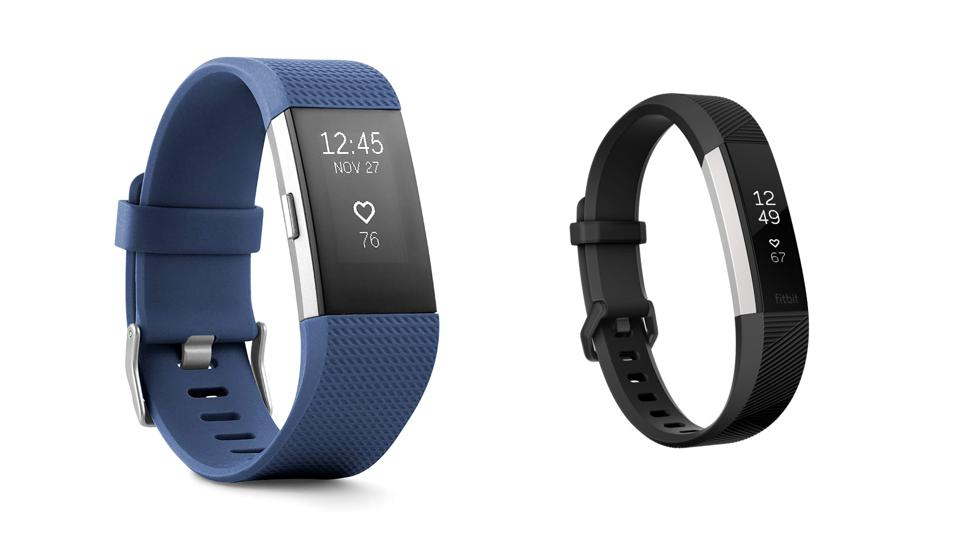 Fitness Tracker Review: Fitbit Charge 2 vs  Fitbit Alta HR