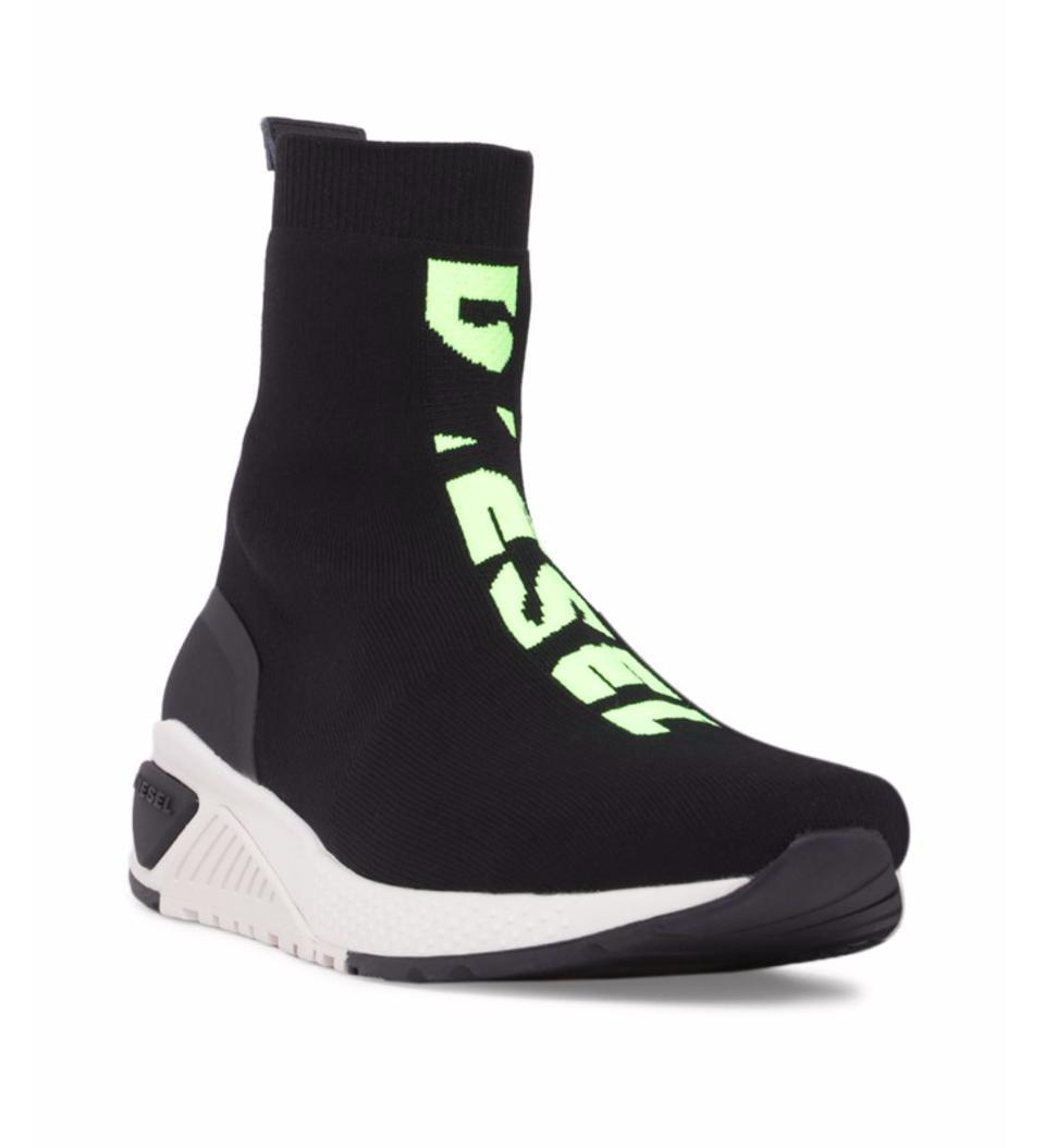 Diesel Knit Logo Sock Sneakers