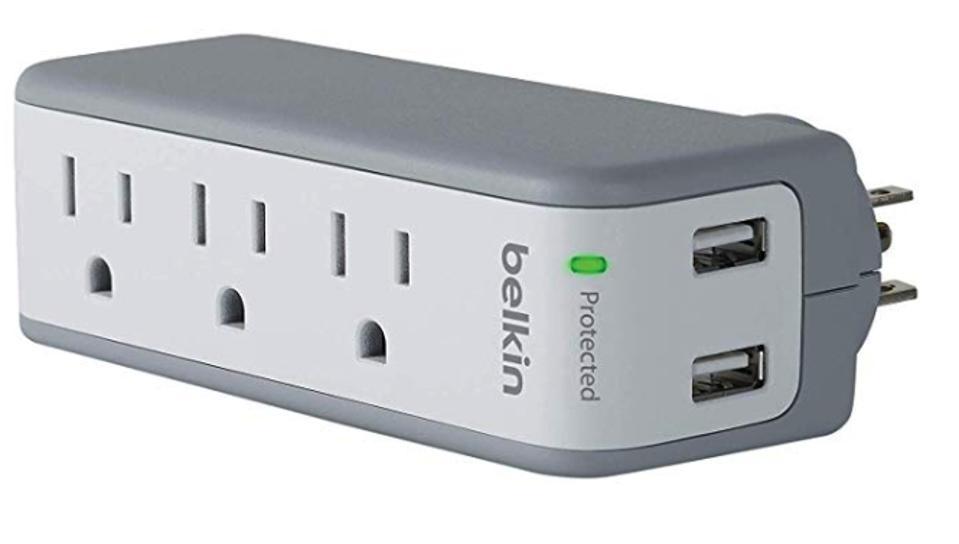 Belkin 3-Outlet USB Surge Protector