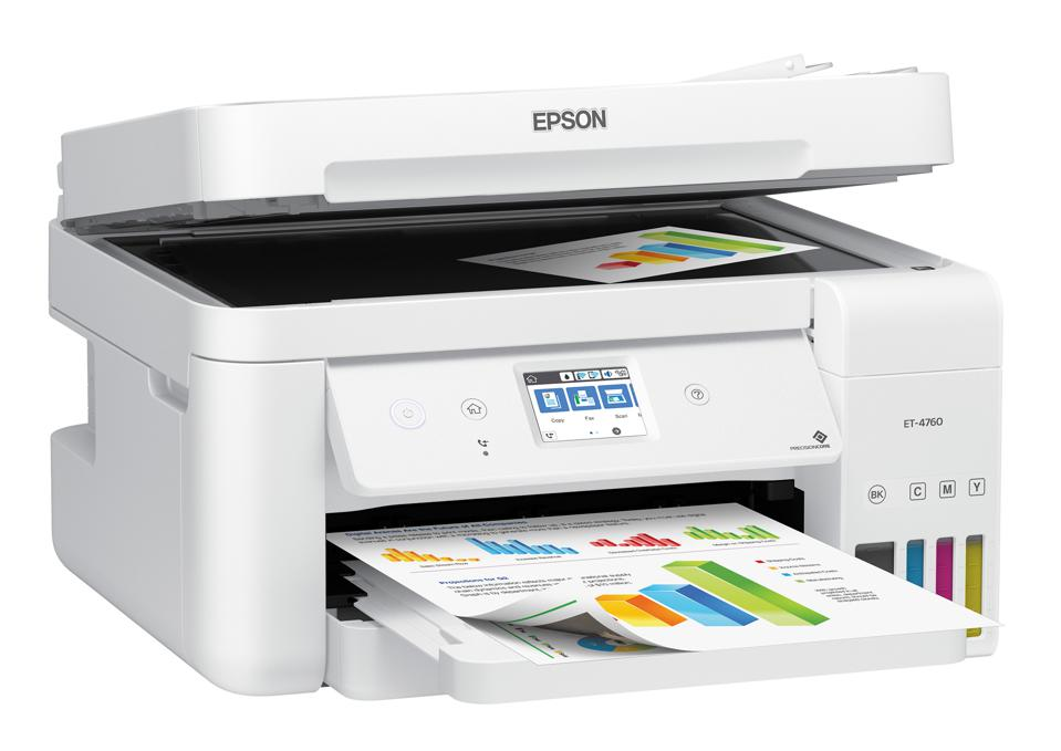 Why The Epson EcoTank ET-4760 Is The Best Printer For A