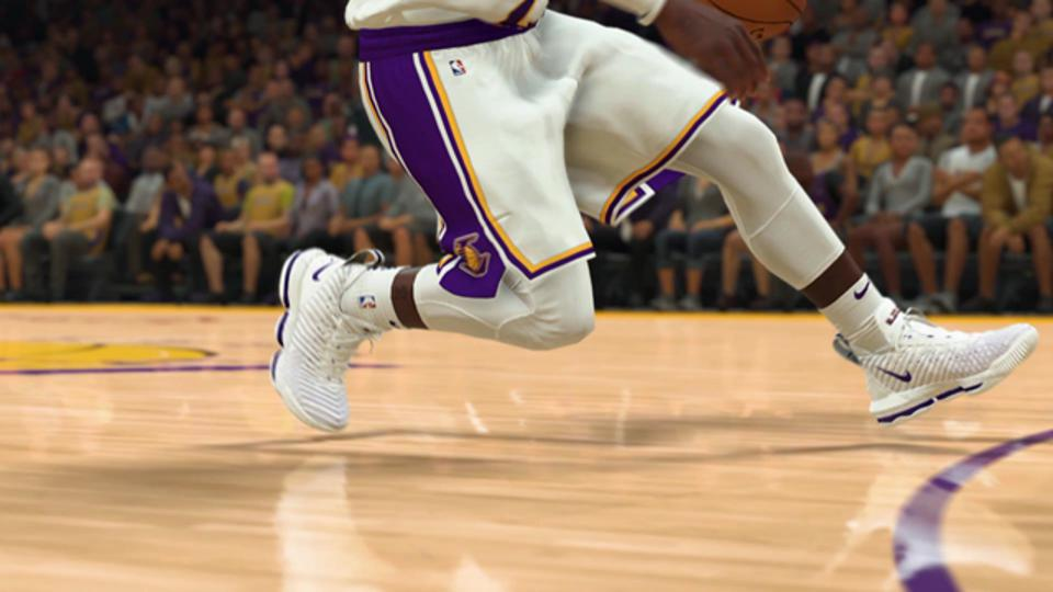 LeBron James' Shoes in NBA 2K20