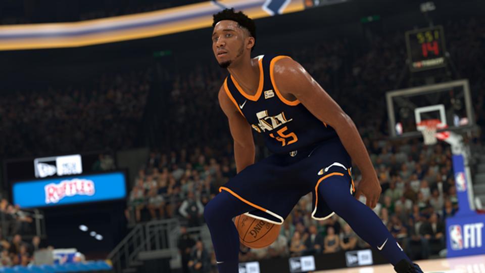 NBA 2K20 Donovan Mitchell
