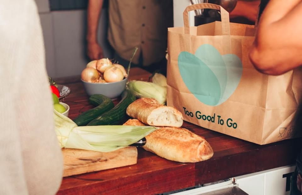 A takeaway Too Good To Go bag