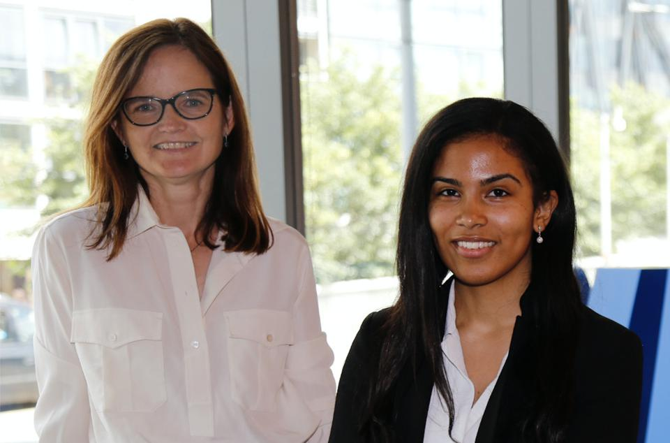 Charlotte Hogg and Jacqueline Gomez-Neves
