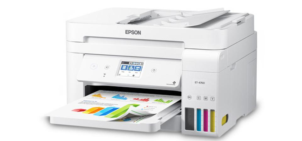 Why The Epson EcoTank ET-4760 Is The Best Printer For A Chromebook