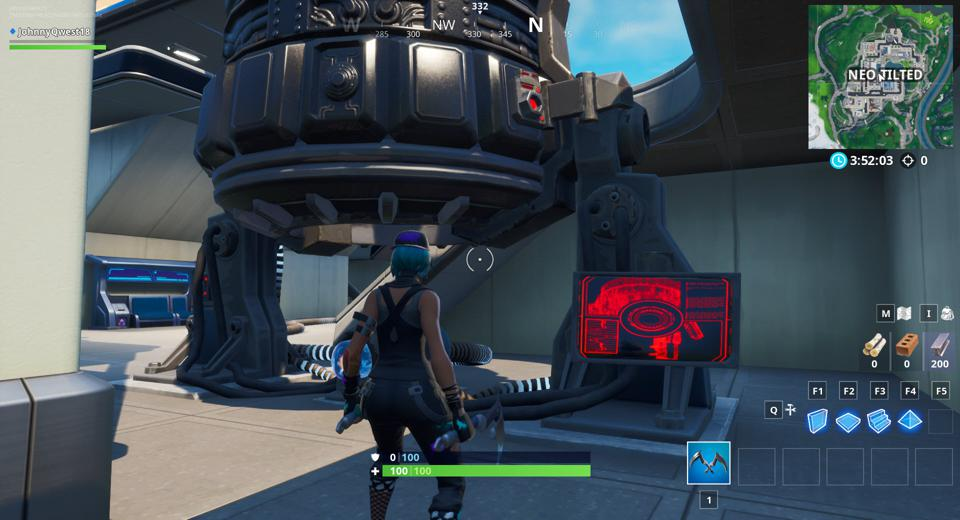 Fortnite' Activates A Rift Beacon That's About To Time Warp Neo