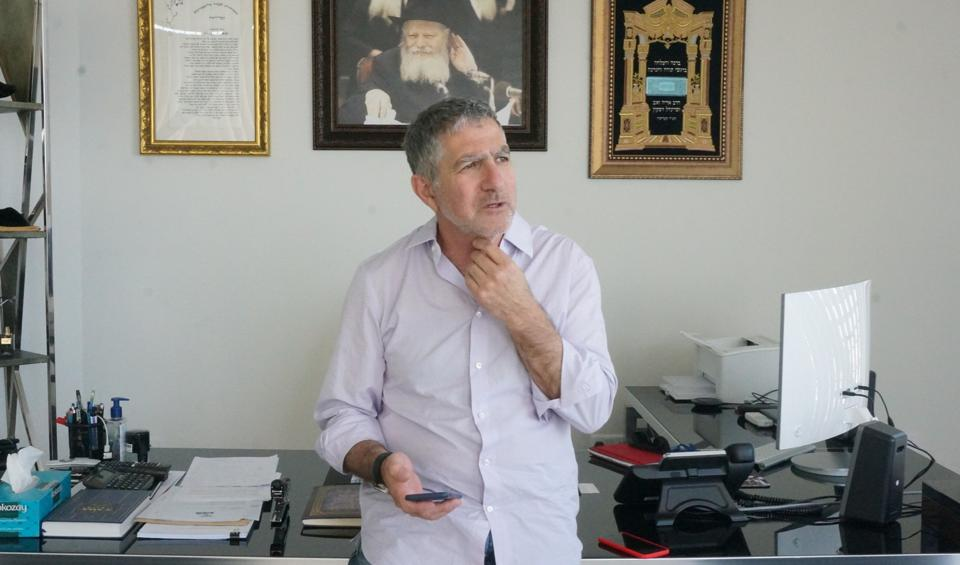Tal Dilian in Intellexa's Cyprus office